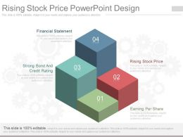 Pptx Rising Stock Price Powerpoint Design