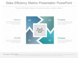 Pptx Sales Efficiency Metrics Presentation Powerpoint