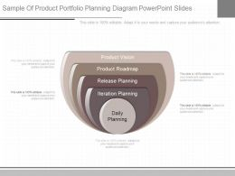 Pptx Sample Of Product Portfolio Planning Diagram Powerpoint Slides