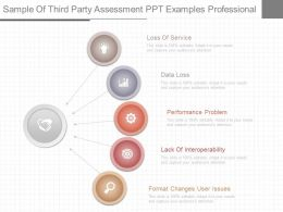 Pptx Sample Of Third Party Assessment Ppt Examples Professional