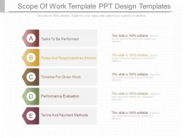 Pptx Scope Of Work Template Ppt Design Templates