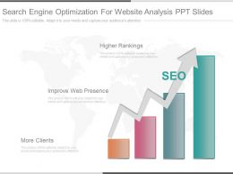 Pptx Search Engine Optimization For Website Analysis Ppt Slides