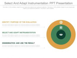 Pptx Select And Adapt Instrumentation Ppt Presentation