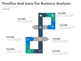 pptx Six Staged Timeline And Icons For Business Analysis Flat Powerpoint Design