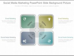 Pptx Social Media Marketing Powerpoint Slide Background Picture