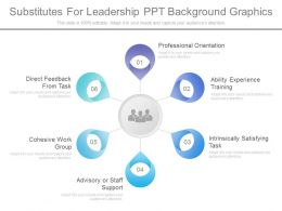 Pptx Substitutes For Leadership Ppt Background Graphics
