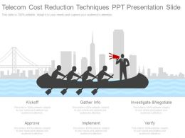 Pptx Telecom Cost Reduction Techniques Ppt Presentation Slide