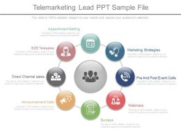 Pptx Telemarketing Lead Ppt Sample File
