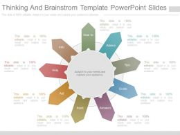 Pptx Thinking And Brainstorm Template Powerpoint Slides