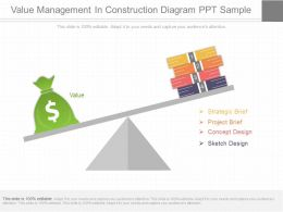 Pptx Value Management In Construction Diagram Ppt Sample