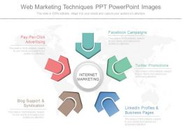 Pptx Web Marketing Techniques Ppt Powerpoint Images