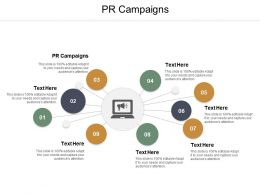 PR Campaigns Ppt Powerpoint Presentation Summary Shapes Cpb