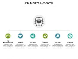 PR Market Research Ppt Powerpoint Presentation Icon Maker Cpb