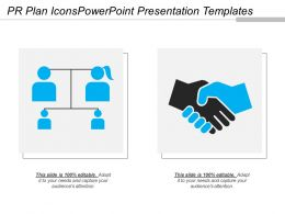 Pr Plan Icons Powerpoint Presentation Templates