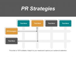PR Strategies Ppt Powerpoint Presentation Layouts Clipart Images Cpb