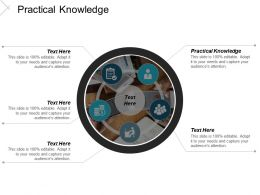 Practical Knowledge Ppt Powerpoint Presentation Icon Microsoft Cpb