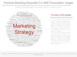 Practical Marketing Essentials For Sme Presentation Images