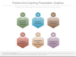 Practice And Coaching Presentation Graphics