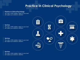 Practice In Clinical Psychology Ppt Powerpoint Presentation File Picture