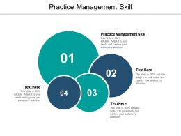 Practice Management Skill Ppt Powerpoint Presentation File Guidelines Cpb