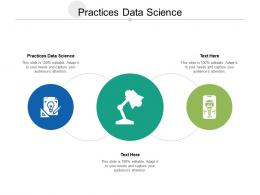 Practices Data Science Ppt Powerpoint Presentation Layouts Background Images Cpb