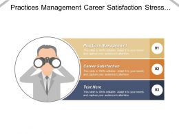 Practices Management Career Satisfaction Stress Management Vendor Evaluation