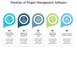 Practices Of Project Management Software