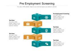 Pre Employment Screening Ppt Powerpoint Presentation Designs Cpb