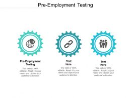 Pre Employment Testing Ppt Powerpoint Presentation File Maker Cpb