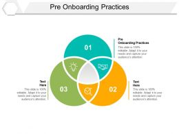 Pre Onboarding Practices Ppt Powerpoint Presentation Outline Demonstration Cpb