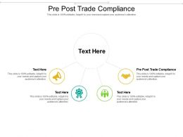 Pre Post Trade Compliance Ppt Powerpoint Presentation Slides Graphics Template Cpb