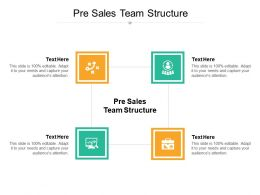Pre Sales Team Structure Ppt Powerpoint Presentation Layouts Clipart Images Cpb