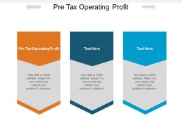 Pre Tax Operating Profit Ppt Powerpoint Presentation Slides Guidelines Cpb