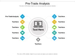 Pre Trade Analysis Ppt Powerpoint Presentation Pictures Layout Ideas Cpb