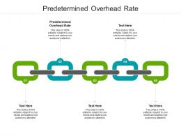 Predetermined Overhead Rate Ppt Powerpoint Presentation Styles File Formats Cpb