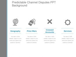 Predictable Channel Disputes Ppt Background