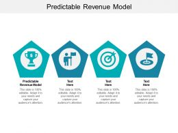 Predictable Revenue Model Ppt Powerpoint Presentation Model Gridlines Cpb