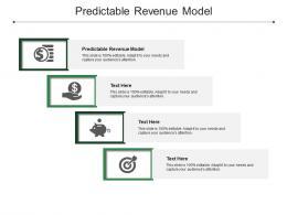 Predictable Revenue Model Ppt Powerpoint Presentation Show Topics Cpb