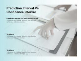 Prediction Interval Vs Confidence Interval Ppt Powerpoint Presentation Layouts Grid