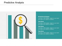 Predictive Analysis Ppt Powerpoint Presentation File Professional Cpb