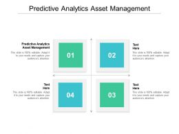 Predictive Analytics Asset Management Ppt Powerpoint Presentation File Picture Cpb