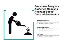 Predictive Analytics Audience Modeling Account Based Demand Generation Cpb