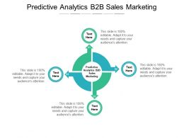 Predictive Analytics B2B Sales Marketing Ppt Powerpoint Presentation Model Cpb