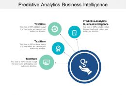 Predictive Analytics Business Intelligence Ppt Powerpoint Presentation Layout Cpb