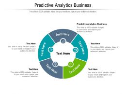 Predictive Analytics Business Ppt Powerpoint Presentation Show Rules Cpb