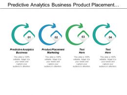 Predictive Analytics Business Product Placement Marketing Strategy Implementation Cpb