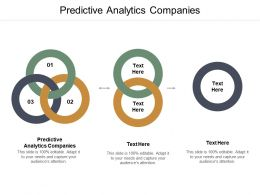 Predictive Analytics Companies Ppt Powerpoint Presentation Ideas Files Cpb