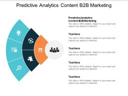 Predictive Analytics Content B2b Marketing Ppt Powerpoint Presentation Ideas Good Cpb