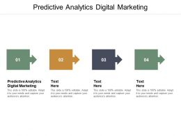 Predictive Analytics Digital Marketing Ppt Powerpoint Presentation Styles Influencers Cpb