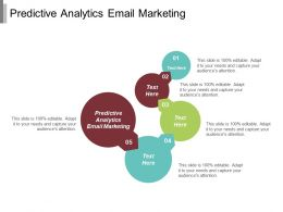 Predictive Analytics Email Marketing Ppt Powerpoint Presentation Gallery Examples Cpb